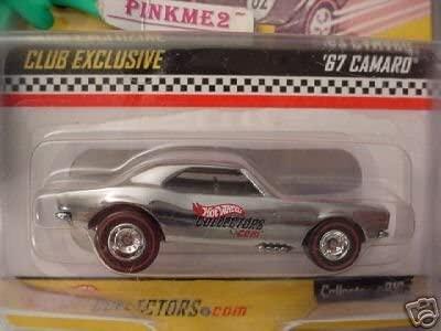 RLC Hot Wheels Club Exclusive chrome'67 CAMARO#020 rr