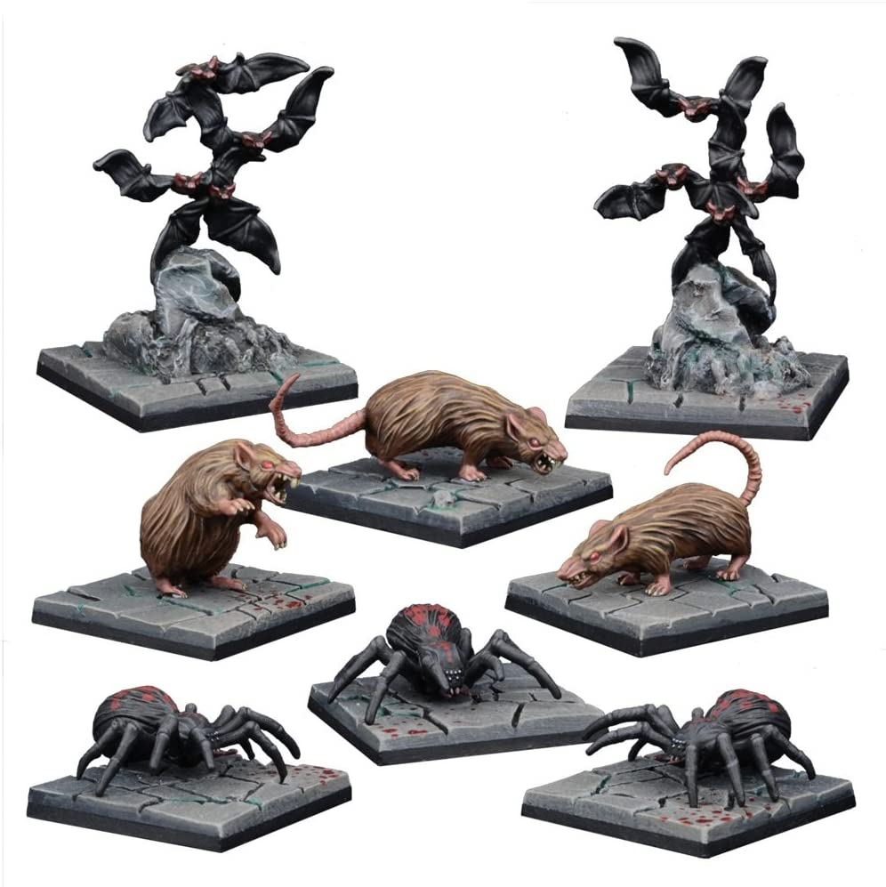 Mantic Games MGDS27 Dungeon Critters Miniature Game, Multi-Colour