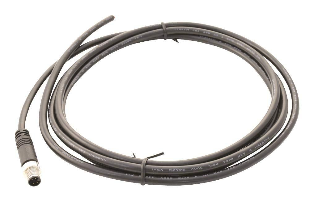 AMPHENOL LTW - 8A-04AMMM-SL7A02 - Sensor Cord, 4P M8 Plug-Free END, 2M