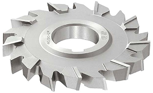 KEO Milling 84284 Staggered Tooth Milling Cutter,