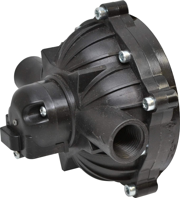 Everflo EF3000-KIT 12V Diaphragm Pump Head, Black