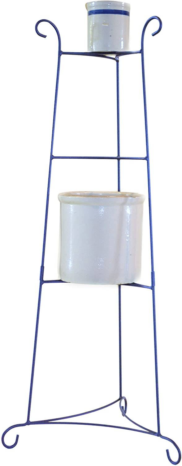 J&J Wire Crock/Plant Stand, Large