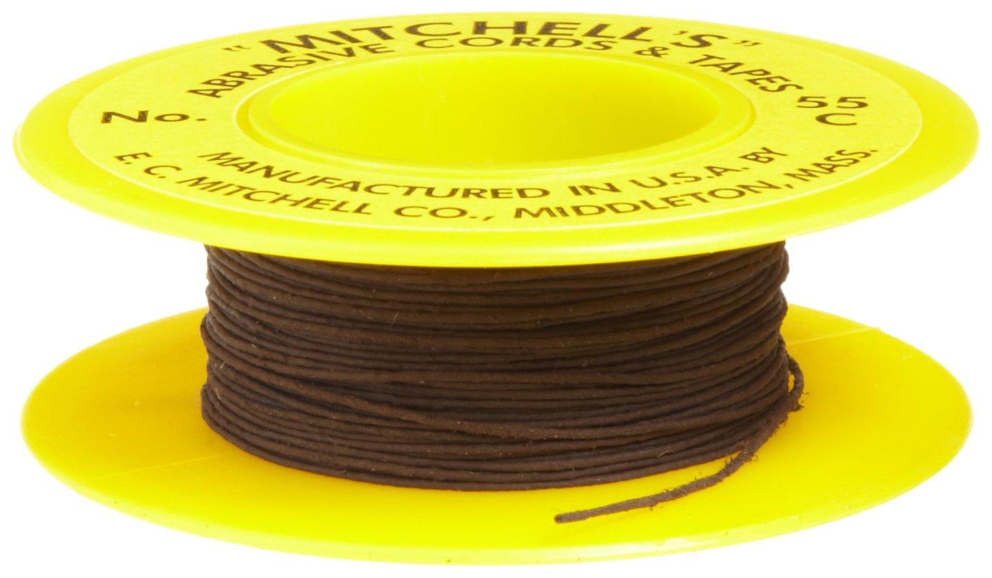 Mitchell Abrasives 55-C Round Crocus Polishing Cord, .018