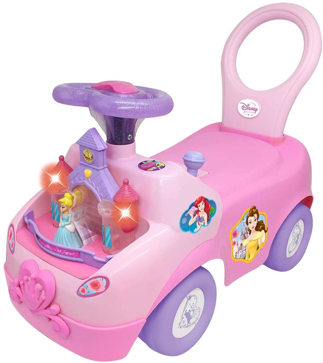 Kiddieland Disney Magical Castle Deluxe Ride On