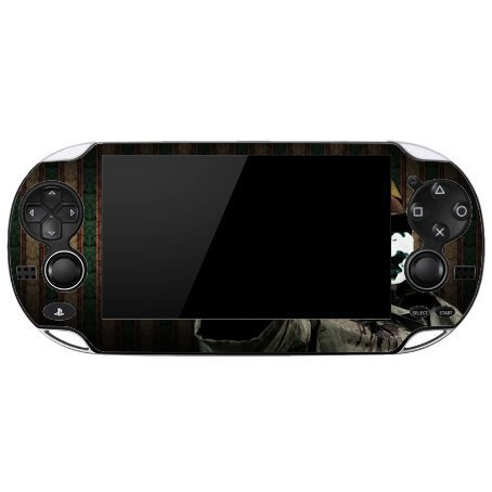 Comic Book Hero Playstation Vita Vinyl Decal Sticker Skin by Compass Litho by Compass Litho