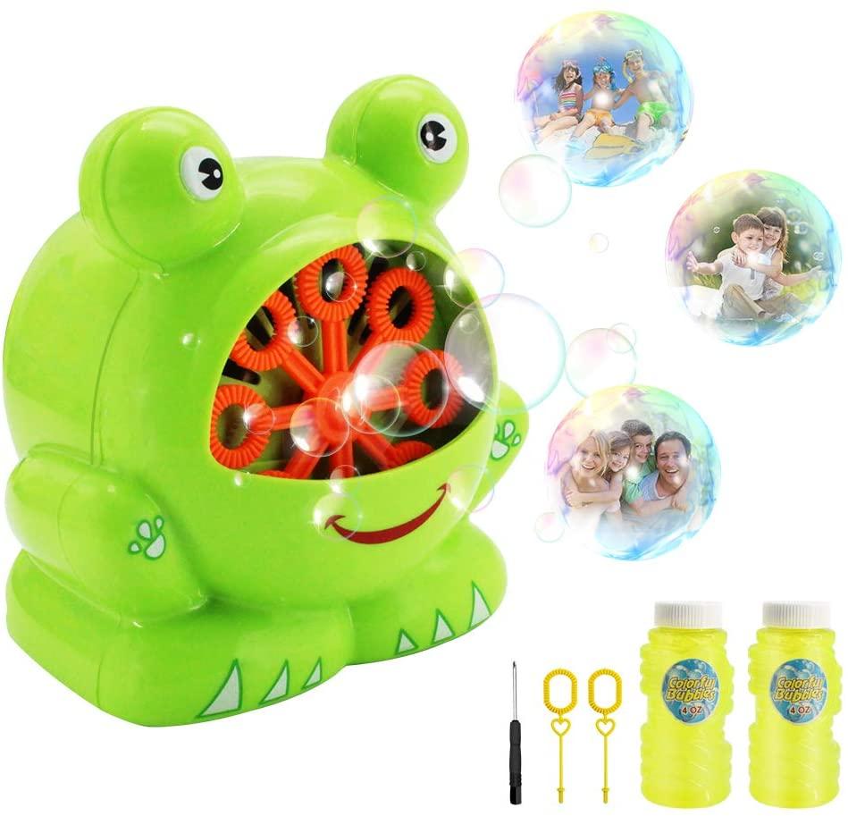KMOOL Automatic Bubble Machine for Kids Outdoor,Bubble Blower Machine,Bubble Machine for Toddlers,Bubble Maker Machine for Kids Bubble Machine Professional,Bubble Blower for Toddlers-Bubble Solution