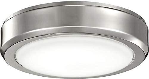 Kichler 338203PN, One-Light Arkwright LED Opal Glass Light Kit - Polished Nickel
