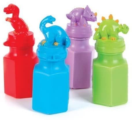 MK Trading New! Dinosaur Bubble Bottles 24
