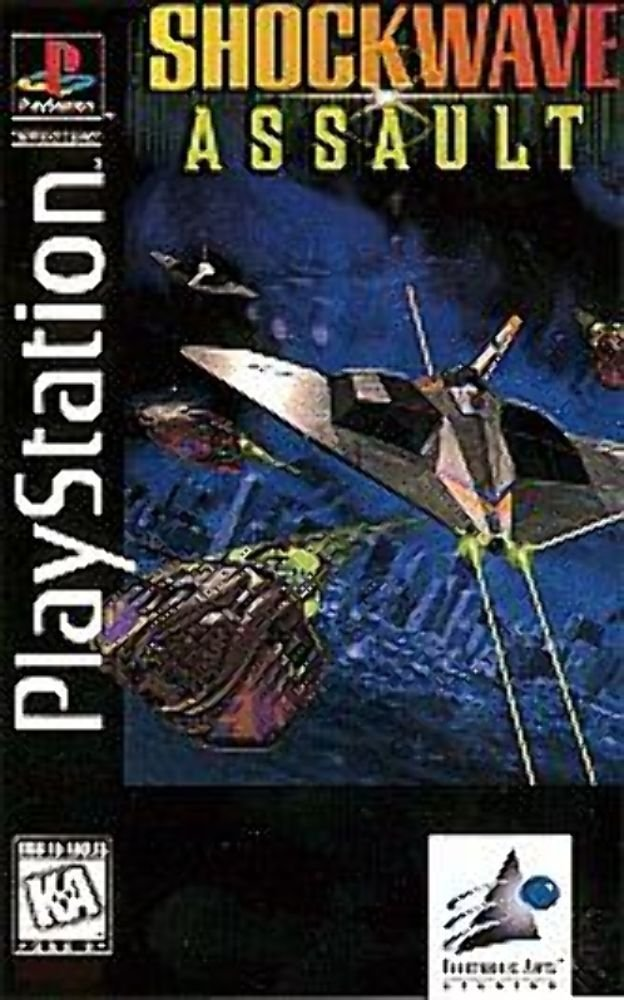 Shockwave Assault - PlayStation