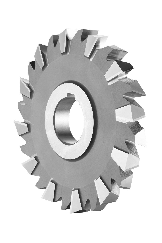 Dormer D200200.0X16.0 Side and Face Milling Cutter, Bright Coating, Cobalt High Speed Steel, Diameter 200 mm, Width 16 mm, Hole Diameter 40 mm
