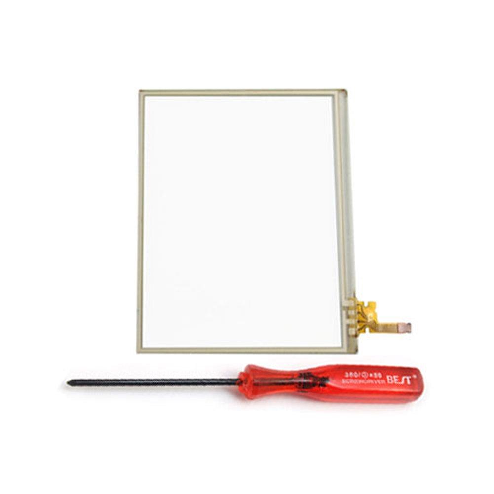Waltzmart Bottom Touch Digitizer Screen Glass Lens For Nintendo DS Lite DSL NDSL + Screwdriver Tool
