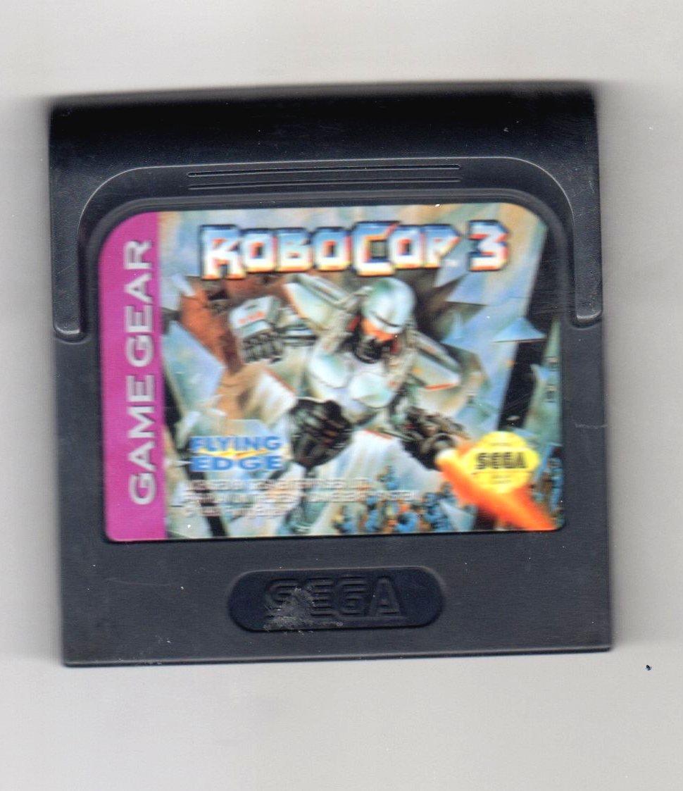 RoboCop 3 - Sega Game Gear