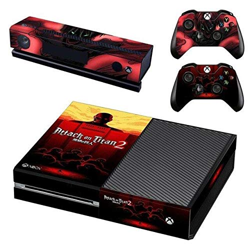 Mr Wonderful Skin Xbox One Console and 2 Controllers Skin Set - Giant people anime – Xbox One Vinyl