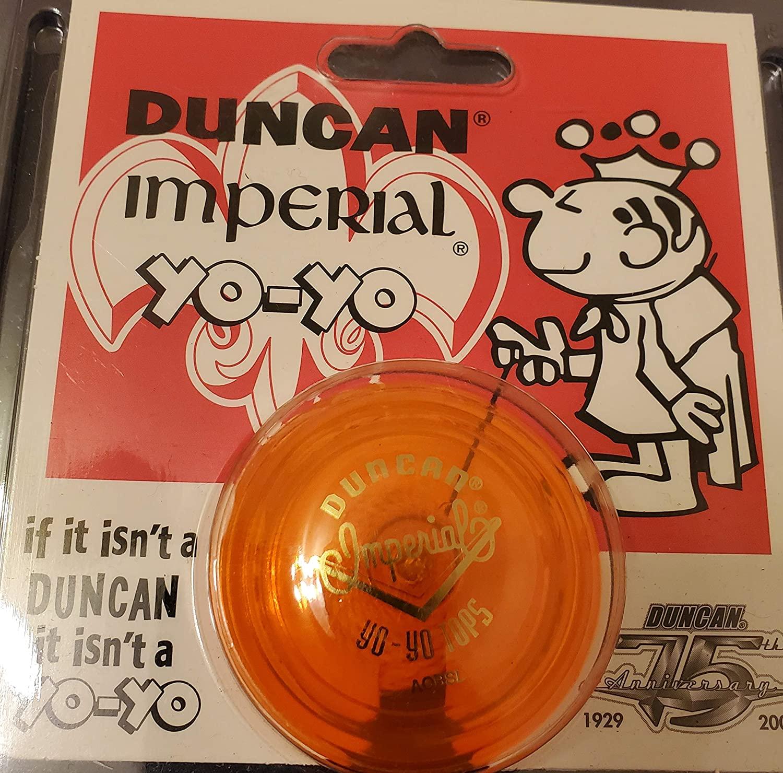 Funstuff Duncan Imperial Yo Yo Orange Classic Vintage Original 1929 75th Anniversary Package Gift