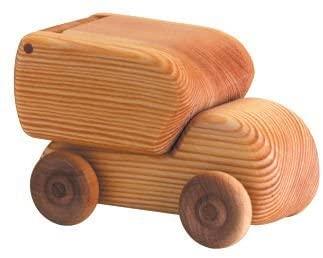Debresk Wooden Delivery Van Truck Toy - Small