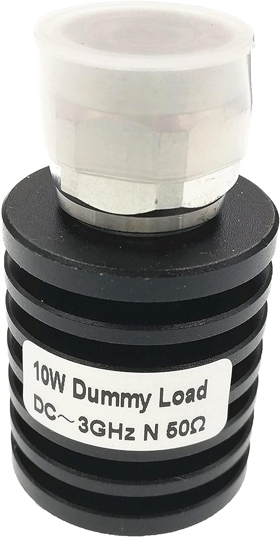 Hestish Dummy Load 50 Ohm Rf Coaxial Terminal Termination (10W 3G N)