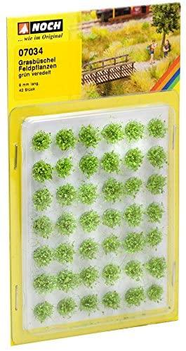 Noch 7034 Grass Tufts Field Plants G,0,H0,TT,N,Z Scale