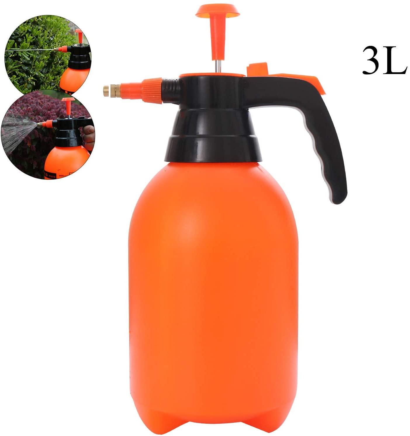 Garden Sprayer Lawn Sprayer for Spraying /Watering/Home Cleaning/Car Washing (3L)