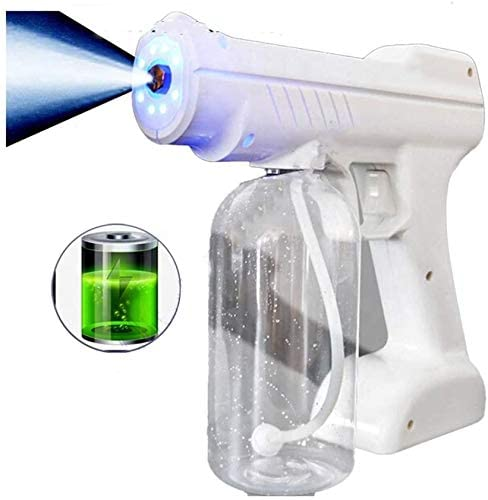 ZYLHC Electric Cordless Fogger, Battery Powered Electric Spray Gun, Rechargeable Electrostatic Mist Sprayer Machine Or Disinfection Humidification and Cleaning