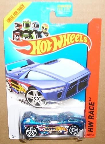 2014 Hot Wheels Regular Treasure Hunt Hw Race - Night Burner