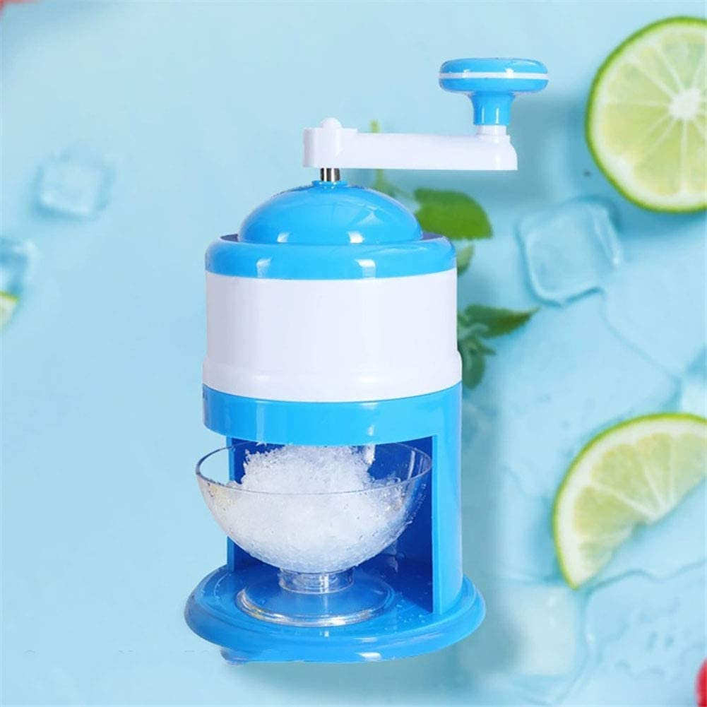 Fengyj Ice Crusher Shaver for Making Drinks,Kitchen Aid Ice Maker for Snow Cones Or Slushies