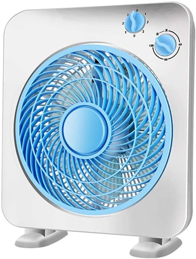 Practical Electric Fan, Desktop Fan, Home Rotary Fan, Silent Mini Fan. for Living Room Bedroom Office, BOSS LV