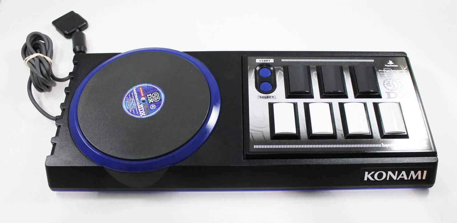 Konami Beatmania Playstation Controller #25047-CON Konami DJ Bemani Beatmania Interactive DJ Simulation Game Sony Playstation Controller #25047-CON
