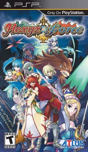Hexyz Force - Sony PSP