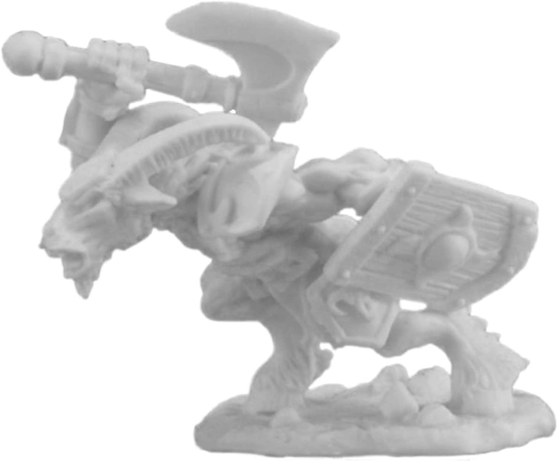 Reaper Bones Beastman Champion Miniature