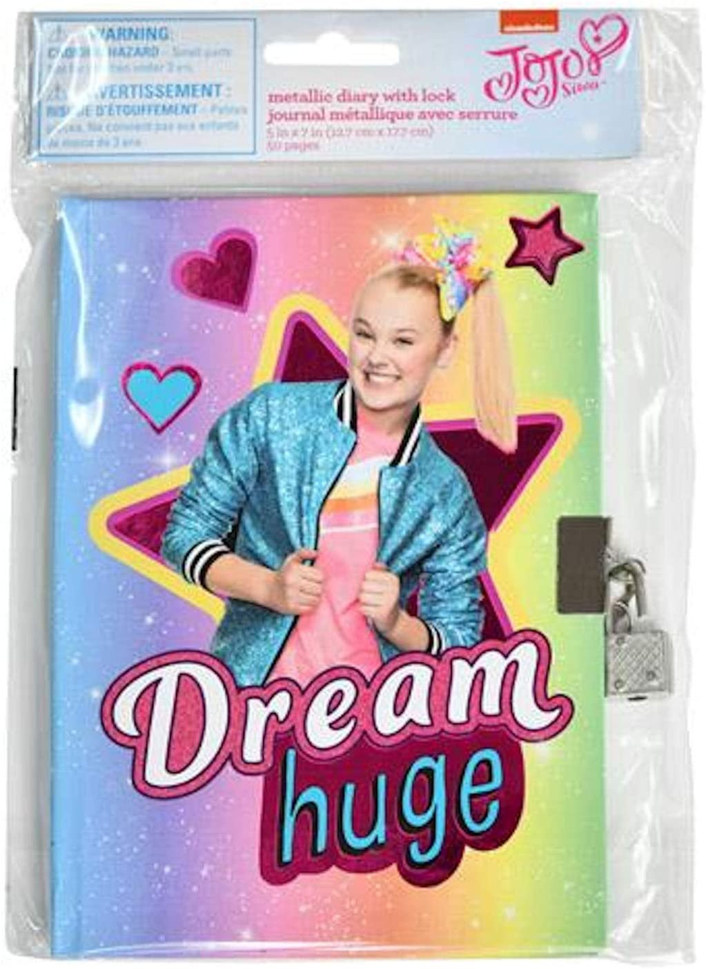 JoJo Siwa Dream Huge Diary with Lock