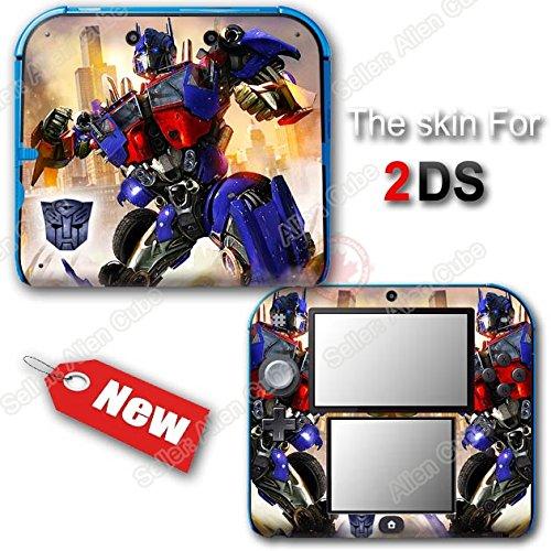 Transformers Optimus Prime New SKIN Vinyl STICKER COVER #1 for Nintendo 2DS