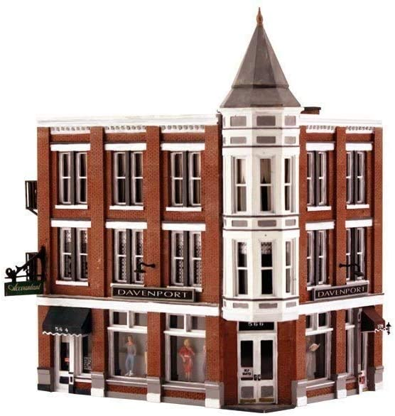 Woodland Scenics HO Scale Built-Up Building/Structure Davenport Dept. Store