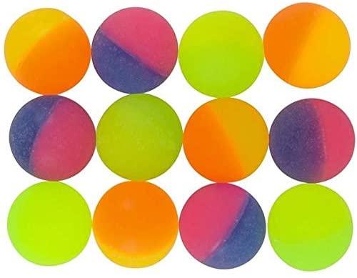 Rhode Island Novelty 32MM 1.2 Inch ICY Hi Bounce Balls, One Dozen per Order