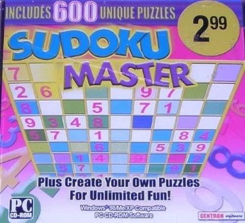 Centron Sudoku Master 600 Unique Puzzles