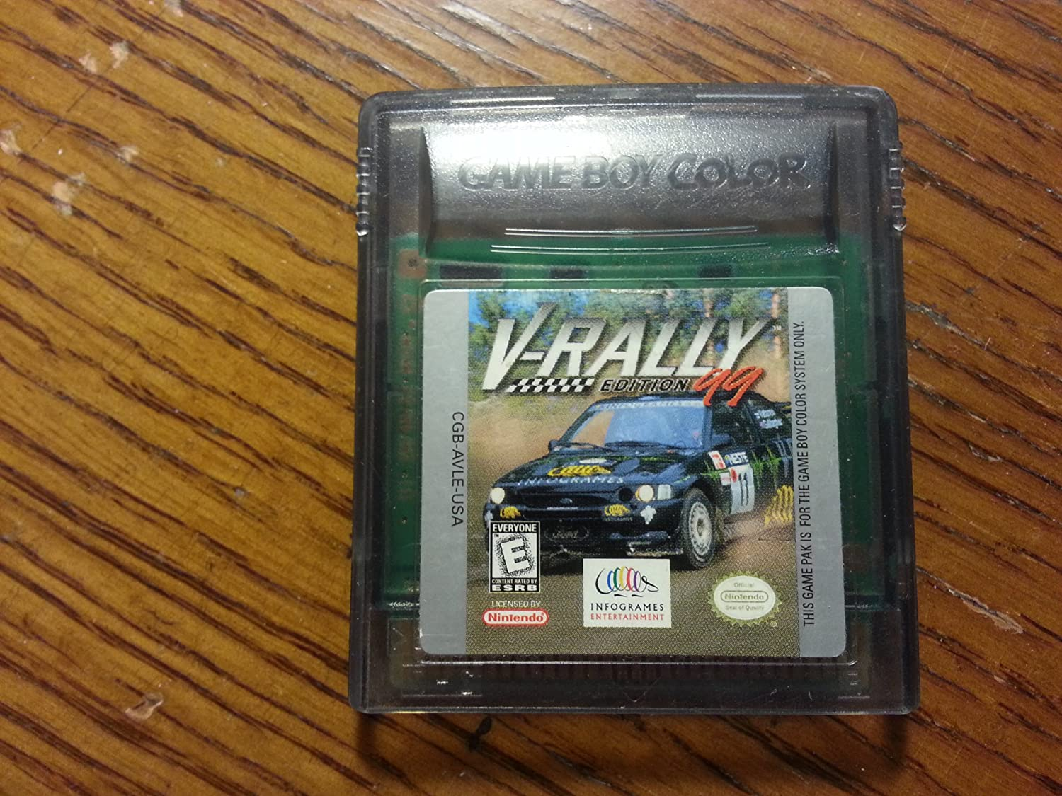 V-Rally Edition '99 (Game Boy Color)