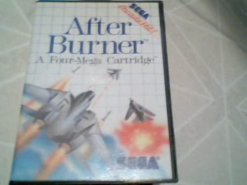 1988 Tonka Corporation Sega After Burner Original Game Display Storage Box (Sega Master System Version)