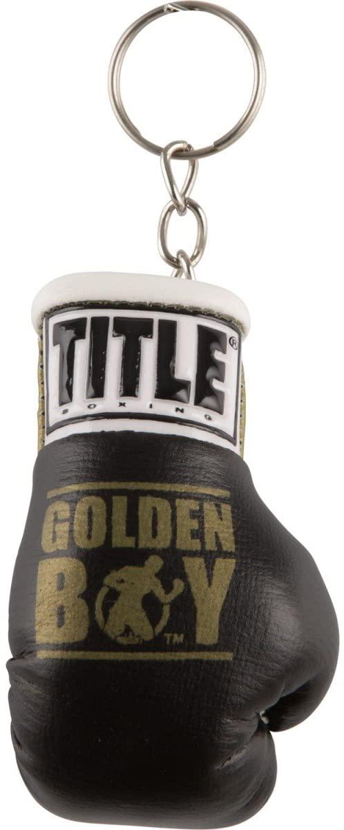 Title Boxing Golden Boy Boxing Glove Keyrings