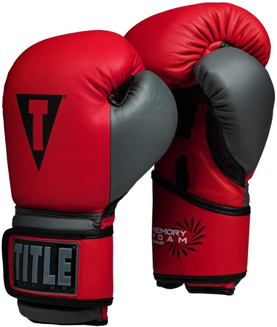 Title Boxing Memory Foam Training Gloves