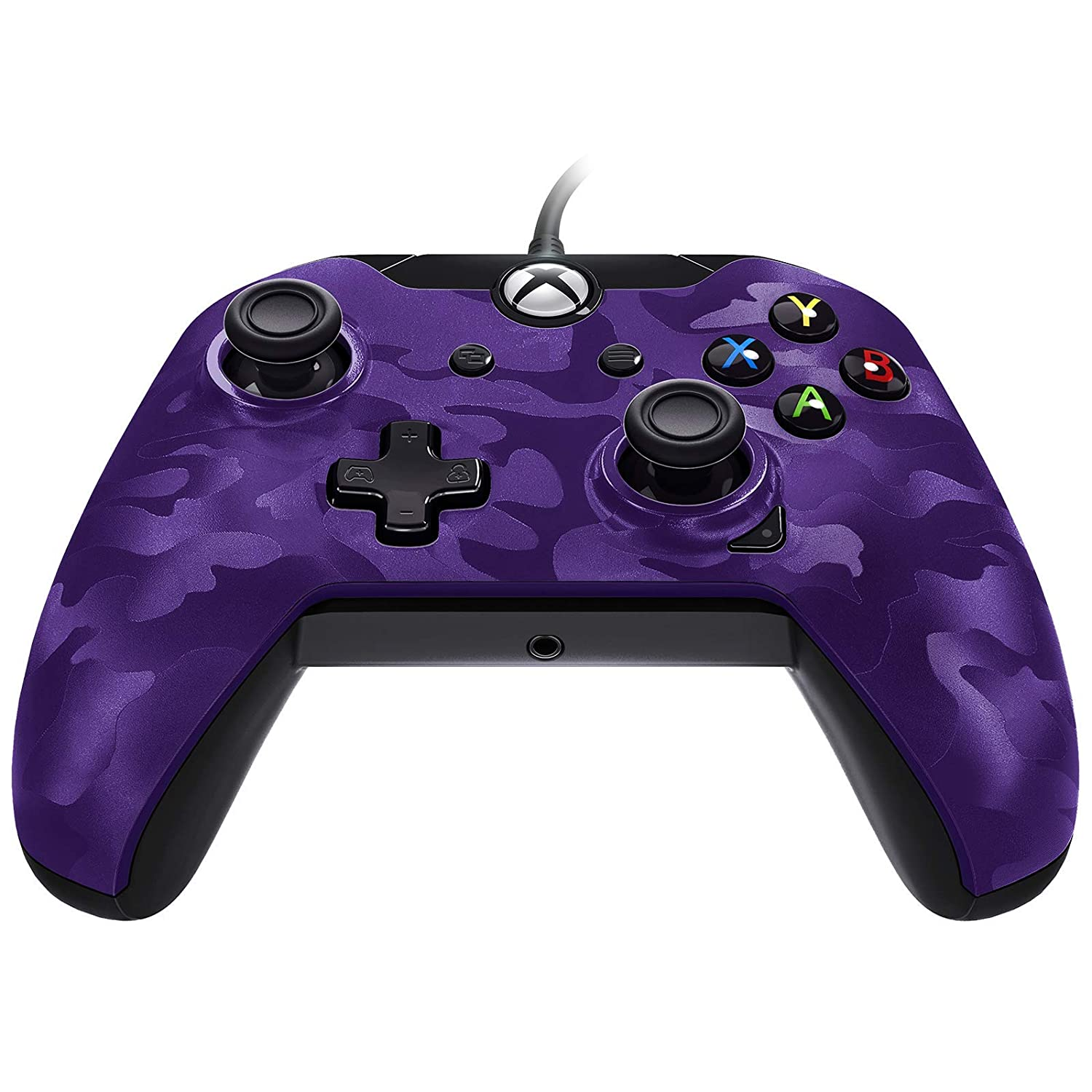 PDP 048-082-NA-CM05 Stealth Series Wired Controller for Xbox One, Xbox One X and Xbox One S 048-082-NA-CM05, Purple Camo