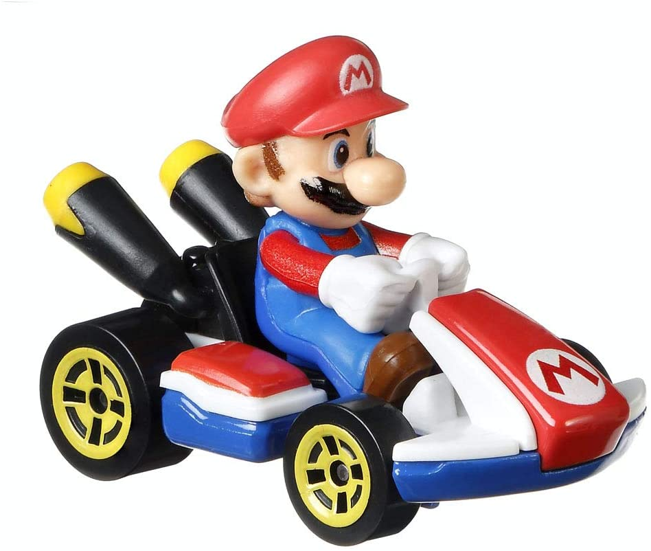 Replacement Part for Mario Kart Track - Hot Wheels Mario Kart Circuit Track Set GCP27 ~ Replacement Mario Car