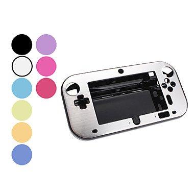 jun Aluminum Protective Case for Wii U GamePad (Assorted Color) , Black