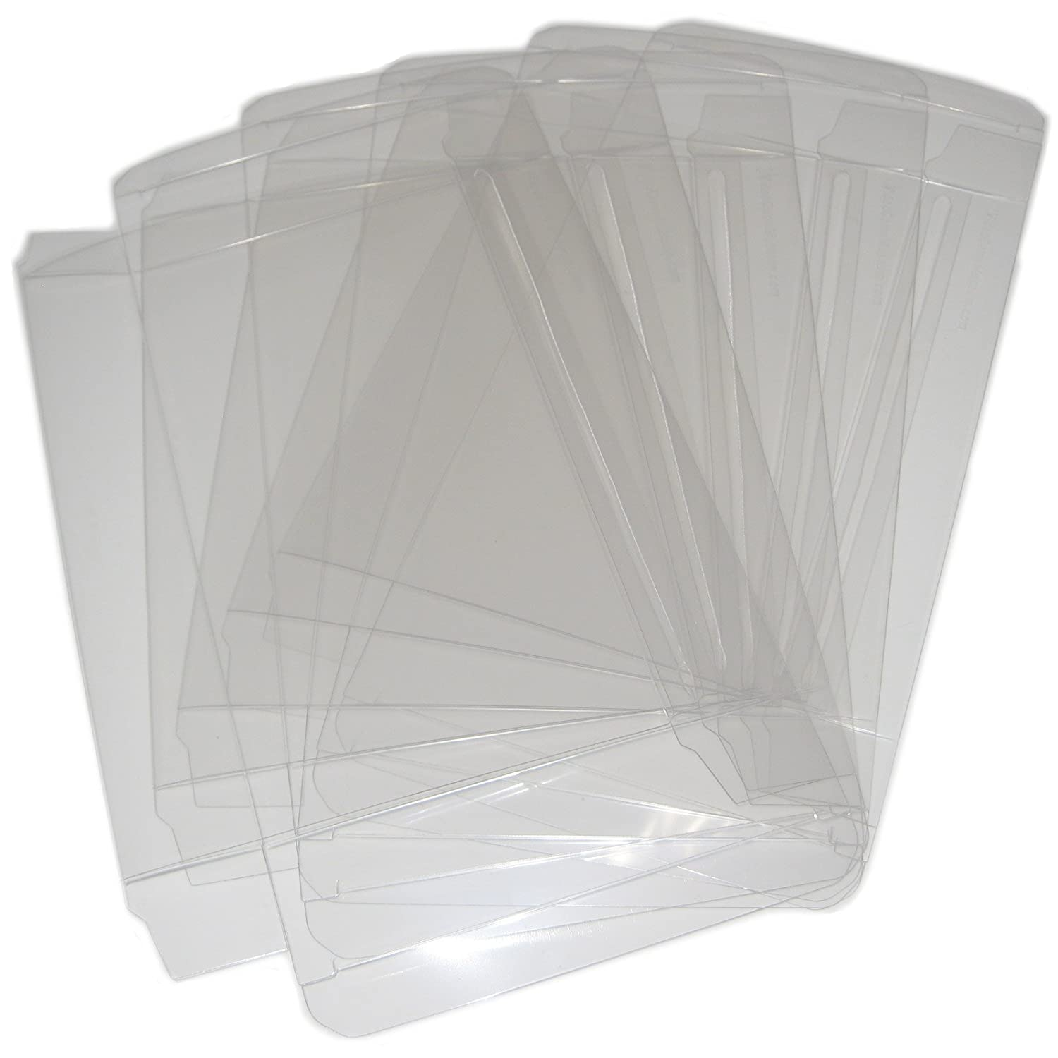 25 VGM Custom Clear Plastic Box Protectors for SNES & N64 Boxed Games