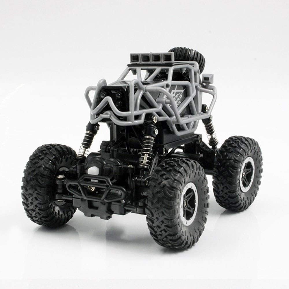 Xuess 1:14 Remote Control Mini Climbing Car 2.4G Remote Control Four-Wheel Drive Dual Motor Off-Road Remote Control Car Rechargeable Model Toy for Kids and Adults Outdoors