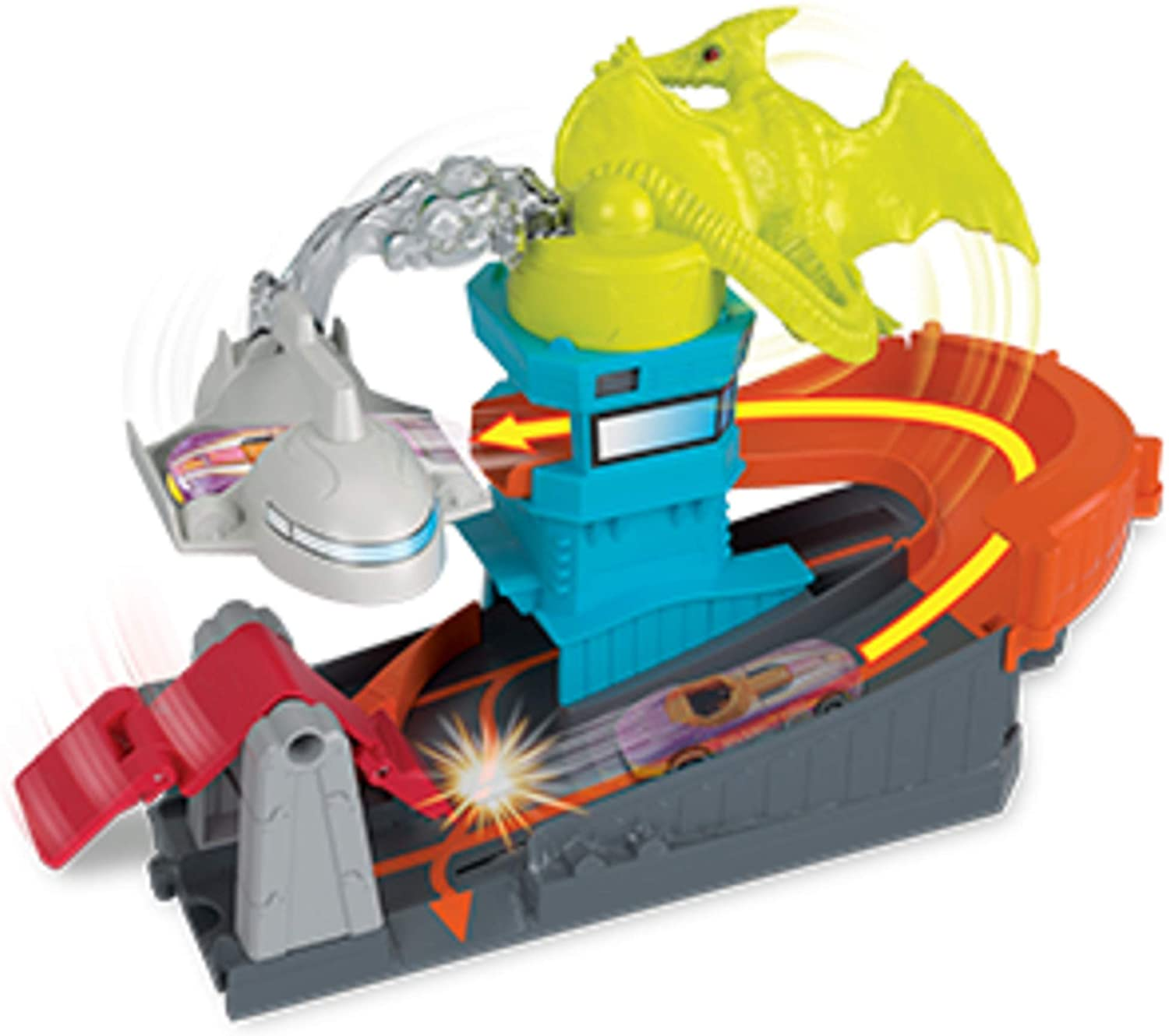 Hot Wheels Ptero Port Attack, playset
