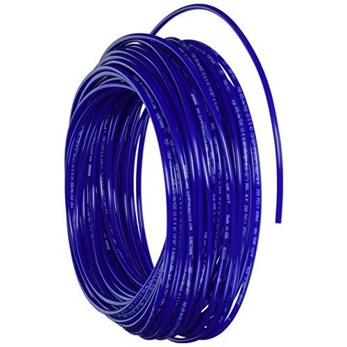 Advanced Technology Products PU08M/516DNB Surethane NSF 51 Polyurethane Tubing (Shore A 98), Outside Diameter 5/16, 1000 Length, -40 Degree F to +160 Degree F, Navy Blue
