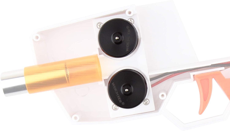 JGCWorker Hurricane Blaster, Toy Blaster Uses Foam Soft Darts (Mod Kits)