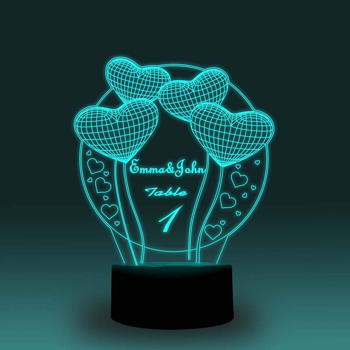 VTDOUQ Balloon Night Light for Kids 3D Night Light Lamp with Bluetooth APP Control 16 Million Color Changing Xmas Halloween Birthday Gift for Child Baby Girl