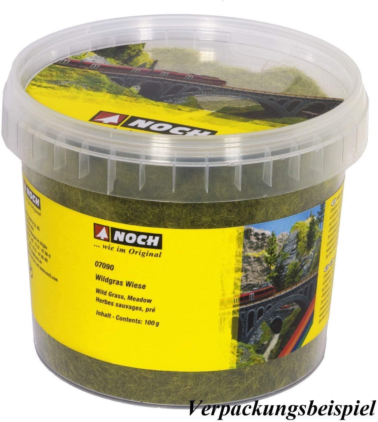 Noch 07093 6 mm Wild Grass Bright Green Landscape Modelling