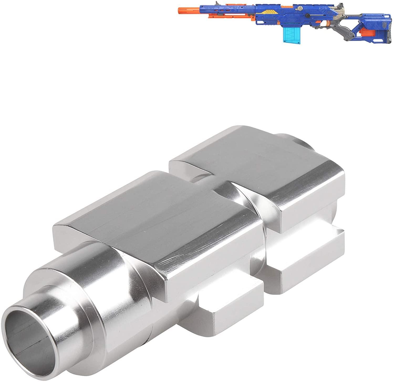 WORKER Aluminum Tube for Nerf N-Strike Longstrike CS-6 Dart Blaster Modulus