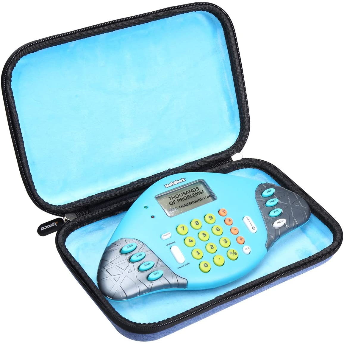 Aproca Hard Travel Storage Carrying Case for Educational Insights MathShark